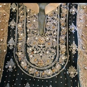 32fbae29fa Dresses   Skirts - Beautiful Pakistani bridal maxi dress